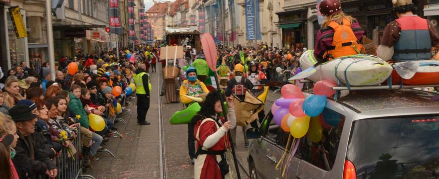 Fasching in Graz – Faschingsumzug